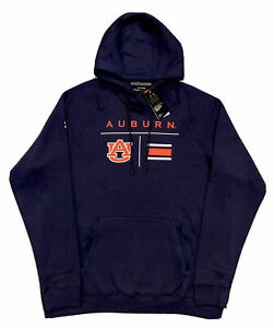 NWT! Under Armour AUBURN TIGERS Official On-Field Coll. Athletic Hoodie XL  Navy