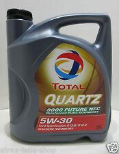 (4,43€/Liter) Total Motoröl Quartz 9000 Future NFC 5W30 5 L ACEA A5/B5 API SL/CF