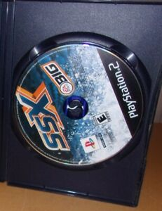 SSX (Sony PlayStation 2) PS2 GAME DISC & BLACK LABEL CASE SNOWBOARDING BIG AIR