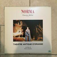 Bellini _ Norma  _ 2 X LaserDisc _ 1992 Dream Life  import JAPAN _ RARE!!