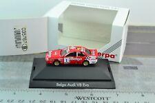 Herpa Motor Sport 035767 (B) AUDI V8 Evo BELGA #1 Racing car 1:87 Scale HO