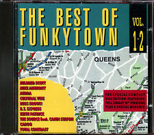 THE BEST OF FUNKYTOWN VOL. 1 + 2 - MAXI VERSIONS - CD COMPILATION [188]