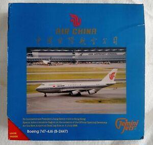 Gemini Jets 1/400 Air China Boeing 747-4J6 Hong Kong SAR Airport Opening 1998