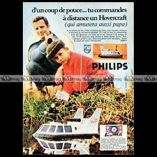 PHILIPS HOVERCRAFT VE 2001 (1970) - Pub / Publicité / Original Advert Ad #A934
