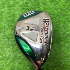 New listing Warrior Golf 3 Hybrid 19° Loft Tour 3.1 Graphite Shaft RH 2734