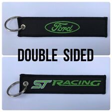 Car Embroidered Key Ring Keyring Keyfob Ford ST Focus Fiesta Sport Racing RaceGP