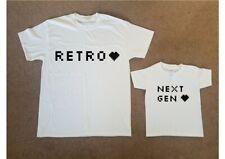 Printed Adult Kid T shirt RETRO / NEXT GEN Geek Training Game Birthday Gift