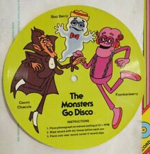 Rare Vintage 1979 The Monsters go Disco Flexi Record Cereal Prize NICE