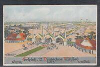39293) Künstler AK J. Klemm Leipzig Deutsches Turnfest 1913 Sonderstempel
