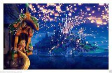 Not Framed Original Canvas Print Home Decor Wall Art<Rapunzel, princess >Disney