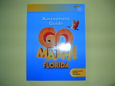 Go Math! Florida Assessment Guide Grade 4 @2015