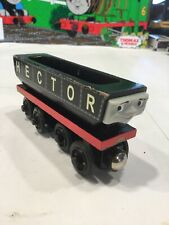 HECTOR~SUPER RARE~Vintage Learning Curve Thomas the train Wooden Train Engine