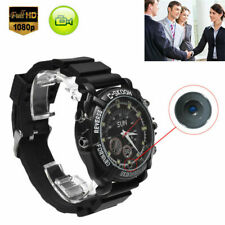 32GB DVR Waterproof HD 1080P Spy Hidden Watch Camera Night Vision Camcorder BK