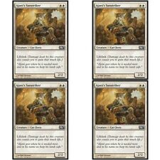 4 x AJANI'S SUNSTRIKER NM mtg M13 White - Cat Cleric Com