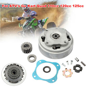 ATV Motorcycle 18 Teeth Engine Clutch Plate Assembly for Go Kart 110 120cc 125cc