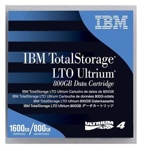 IBM 95P4436 LTO4 ULTRIUM 800GB 1.6TB LTO-4 TAPES 20 PACK NEW