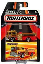 2016 Matchbox Best of Series 1 '75 Mack CF Pumper Fire Engine Truck