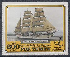 Yémen pdr 1983 ** mi.329 navires ships Gorch Fock