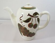 "Stangl Orchard Song 7 1/2"" Coffee Pitcher w/ Lid"