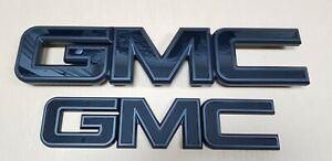 GM Grille Tailgate Emblem whole Black for 2015-19 GMC Sierra 1500 2500HD 3500HD