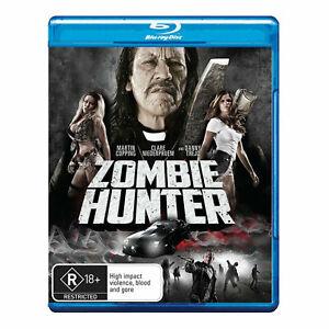 Zombie Hunter Blu-ray - Region B Aust Danny Trejo - NEW+SEALED