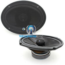 "CDT AUDIO CL-69X NEW 6x9"" 2 WAY  1"" SILK DOME TWEETERS COAXIAL SPEAKERS CL-69"