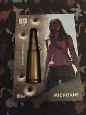 The Walking Dead Season 7 Michonne Shell Casing Relic Card 46/71 Danai Gurira