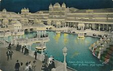 1908 Franco-British Exhibition Court of Honour Night Effect Honor