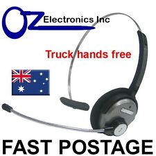 Bluetooth Wireless Headset handsfree for Truck driver courier noise reduction
