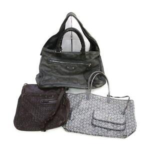 Bottega Veneta Balenciaga GOYARD Leather Hand/Shoulder Bag 3 pieces set 521387