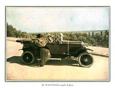 Publicité Ancienne  La 10 HP Citroën Torpedo 4 Places  P.26