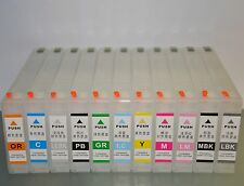 11 X Refillable ink Cartridge for Epson Pro 4900 4910 with ARC Resetter-less