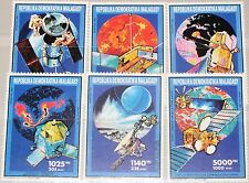 MADAGASCAR MALAGASY 1992 1345-50 1045-50 Weltraum Space Program Raumfahrt MNH
