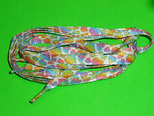 SHOELACES 100CM RAINBOW   HEARTS LACES ** IN AUSTRALIA ** SHOE LACES