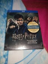 Harry Potter: The Complete Collection alle 8 Teile Blu-ray Box NEU OVP