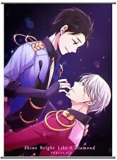 YURI!!! on ICE Yuri Katsuki Victor Nikiforov Poster Wall Scroll 40*60 cm New