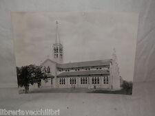 Vecchia cartolina foto d epoca di Holy Redeemer s Church Loikaw Kayah Buruma