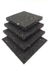 (32,78€/m²) 100 St. 80x80x10mm Terrassenpads Gummigranulat Auflage Bautenschutz