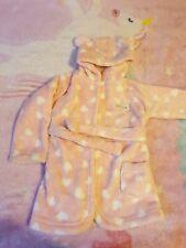 Baby Girl Bath Robe 6-9 Months Pink
