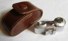 Photopia shoe mount pocket range distance finder original leather case Germany