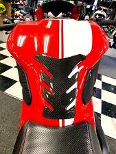 Fit Ducati Monster 1200 Real Carbon Fiber tank Pad Protector sticker trim kit