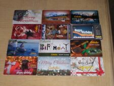 Cabela's    12 different new collectible gift cards