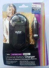 Vivitar Series 1 Universal Battery Charger 100-240V 12v - 1000ma C16 new in pack