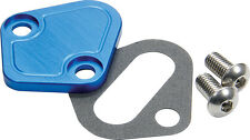 Allstar ALL40303 BB Chevy Fuel Pump Block-Off Plate Blue
