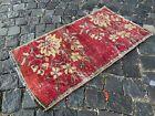Kitchen rug, Small rug, Doormats, Vintage rug, Handmade rug   1,6 x 3,0 ft