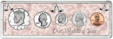 Our Wedding Year Coin Gift Set, 1982