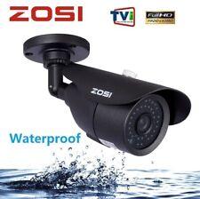 ZOSI 1080P CCTV Camera 42 IR LEDs Outdoor Night Vision 120ft 3.6mm Bullet Camera