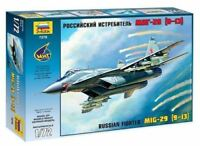 MiG 29 TYPE 9-13 FULCRUM C (RUSSIAN AF MARKINGS)#7278 1/72 ZVEZDA
