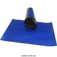 cuir de vachette reptile Design 2,4 mm Gros A3 Bleu réel buffle LARP 370