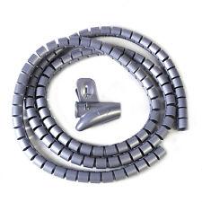 1.5M Flexible Kabelspirale Kabelschutz Kabelschlauch Spiralschlauch Spiralband